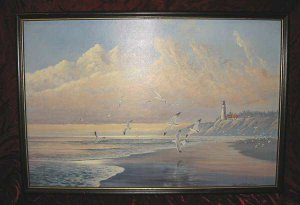 August Holland From Sea to Shining Sea Framed Art Print