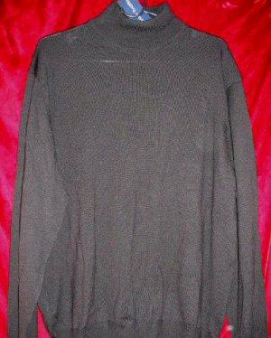 NWT Grant Thomas Italian Merino Wool Crew Sweater L Made in Italy