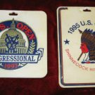 1995 1997 US Open Golf Bag Tag Congressional Shinnecock Hills Club Collectiable