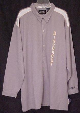 New Big Daddy Button Down Long Sleeve Shirt 2X 2XL Big Tall Mens Clothing 410011-4