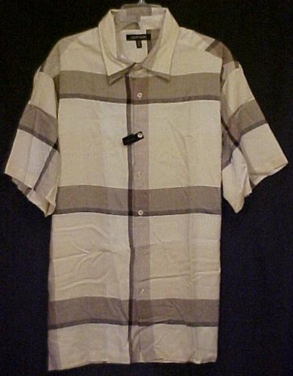 New Button Down Shirt Size 2xl 2x Big Tall Mens Clothing  410101-3