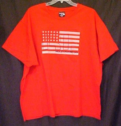 New Ralph Lauren Polo Jeans Company T-shirt Red Flag 2xlt 2xt Big Tall Mens Clothing 410401