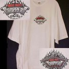 New Occ Orange County Choppers Motorcycle White T-shirt 4XL 4X Big Tall Mens Clothing 410711