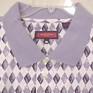 NEW Austin Reed Polo Golf Shirt Collar Short Sleeve 3X 3XL Big & Tall Men's Clothing 600501-2