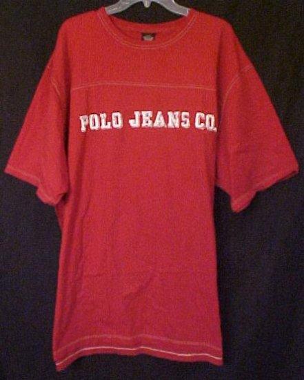 Ralph Lauren Polo Jeans Company Red T-Shirt Tall 3XLT 3XT Big Tall Mens Clothing 601401