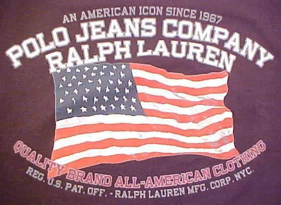 Ralph Lauren Polo Jeans Company Ringer T-shirt Black  2X 2XL Big Tall Mens Clothing 601441