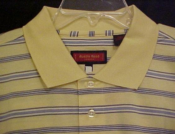 NEW Austin Reed Polo Golf Shirt Collar Short Sleeve 3XT 3XLT Big & Tall Men's Clothing 701931