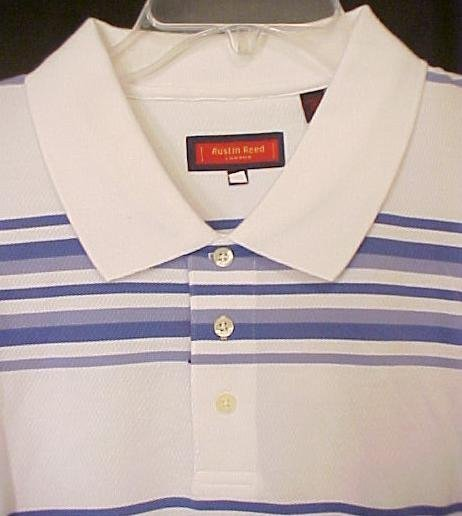 New HALF OFF Austin Reed Polo Golf Shirt Short Sleeve 3XT 3XLT Big & Tall Men's Clothing 702211