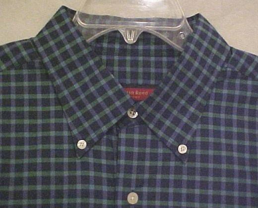 Austin Reed Button Down Shirt Short Sleeve Blue Size 2X 2XL Big Tall Mens Clothing 803541