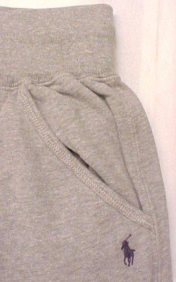 New Polo Ralph Lauren Gray Sweat Pants  3X Sweatpants Big Tall Mens Clothing 905331