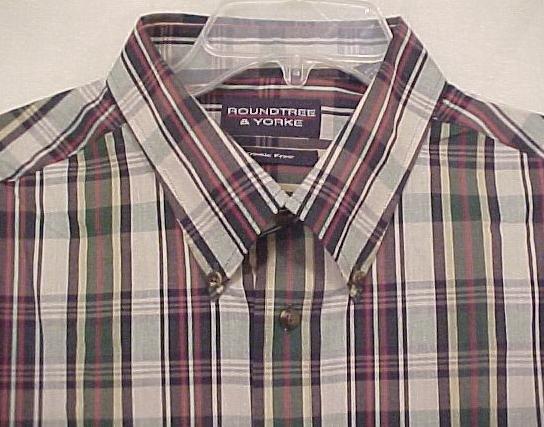 New Button Down Long Sleeve Wrinkle Free Shirt 4XLT 4XT Big Tall Men's Clothing 904491