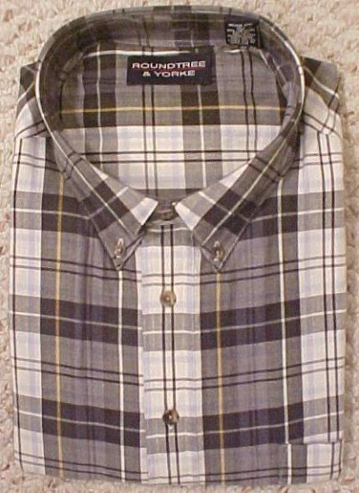 New Button Down Long Sleeve Shirt Size 4X 4XL Big Tall Men's Clothing 107461