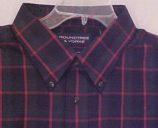 New Button Down Collar Shirt Long Sleeve Sz 4XLT 4XT Big Tall Mens Clothing 904911