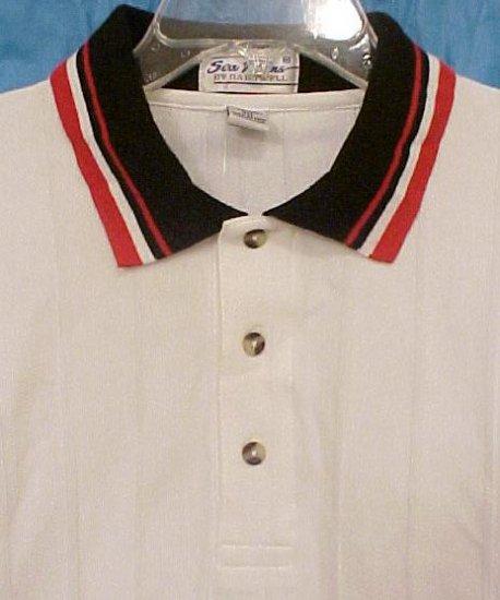 NEW Polo Golf Shirt Short Sleeve Sea Palms Hartwell Size 3XL 3X Big Tall Men's Clothing 32741-2