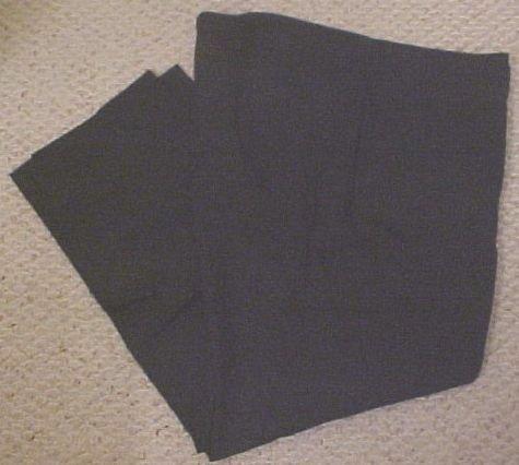 New Khakis Flat Front Black Size 46 X 32 Big Tall Men Clothing 810641