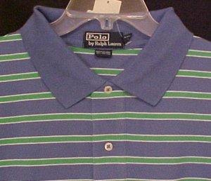 New Ralph Lauren Polo Golf Shirt Short Sleeve Size 4X 4XL Big Tall Mens Clothing 811541