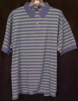 New Ralph Lauren Polo Golf Shirt Short Sleeve Size 3X 3XL Big Tall Mens Clothing 811521
