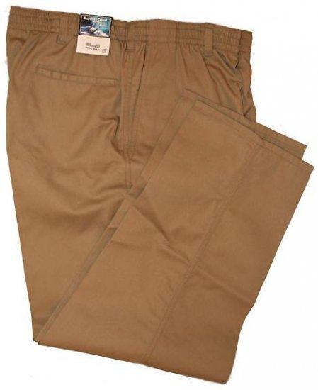 Khaki Elastic Pant Pants 9X Big & Tall Mens Clothing 1202