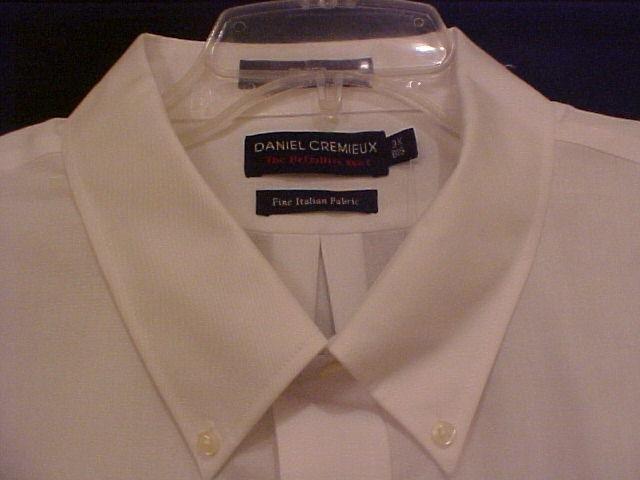 New Daniel Cremieux Button Down White Shirt S/S Size 3X 3XB 3XL Big Tall Mens Clothing 913511