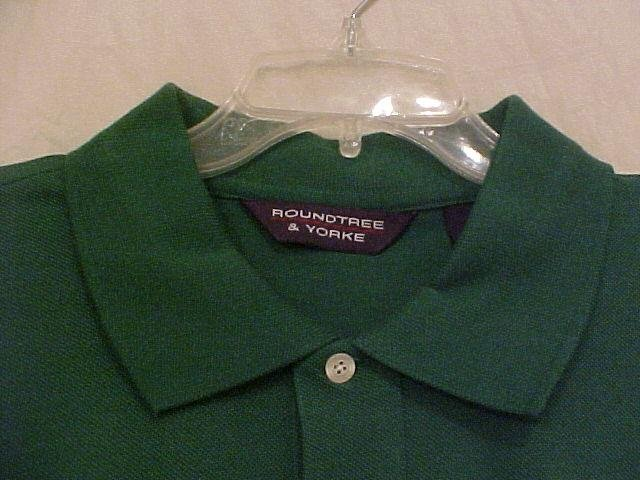 NEW Polo Golf Casual S/S Shirt Green Size 4XT 4XLT Big Tall Mens Clothing 913551