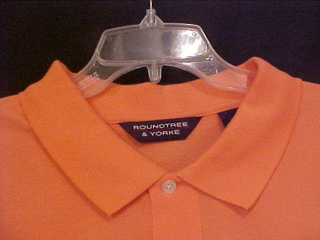 NEW Roundtree & Yorke Polo Golf S/S Size 4XT 4XLT Big and Tall Men's Clothing 913561