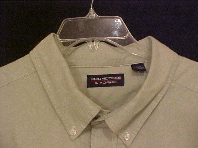 NEW Button Down Casual Shirt L/S Size 4XT 4XLT Big and Tall Mens Clothing 810961