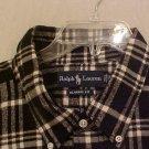 NEW Button Down Casual Ralph Lauren Shirt L/S 2XB 2XL 2X Big Mens Clothing 810911