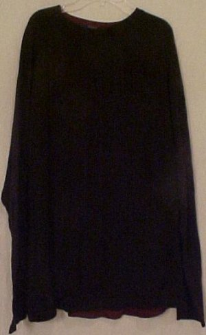 Big Mens Clothing J. Ferrar Knit Pullover L/S Shirt Size 4X 4XL 4XB - 915201