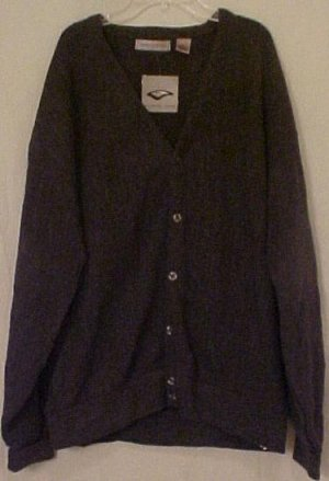 Big Mens Clothing Sweater Button Down L/S Cardigan 2X 2XL 2XB 915231