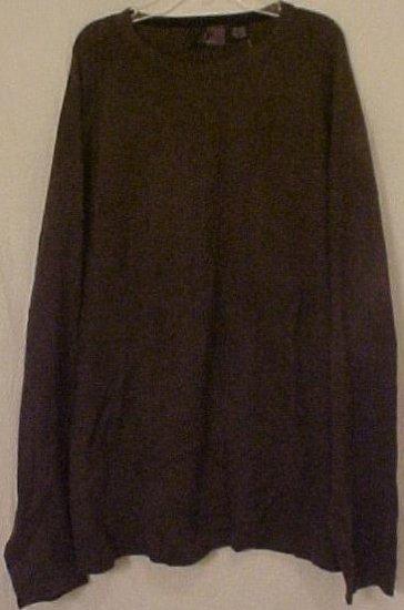 Big Mens Clothing J Ferrar Pullover L/S Sweater Shirt 4X 4XL 4XB 915301