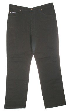 Grand River Stretch Jeans Black 68 X 30 Big Mens Size Clothing 183-68-30
