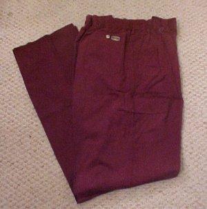 Elastic Waist Wine Pant  Size 42 TALL Unhemmed  Big & Tall Mens Clothing 918851