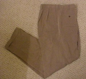 New Classic Fit Pants Taupe Murano 42 X 36 Big Tall Mens Clothing 918631