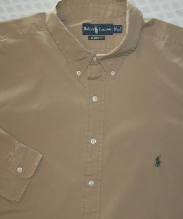 Ralph Lauren Button Down Shirt Long Sleeve Size 4XT 4XLT 4LT Big Tall Mens Clothing 920780 2