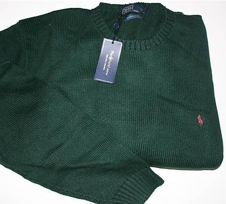 Green Polo Ralph Lauren Pull Over Sweater 4XB 4X 4XL Big Tall Mens Clothing 920821 3