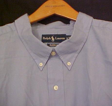 Blue Ralph Lauren Button Down Shirt Long Sleeve Size 3XT 3XLT 3LT Big Tall Mens Clothing 921171 2
