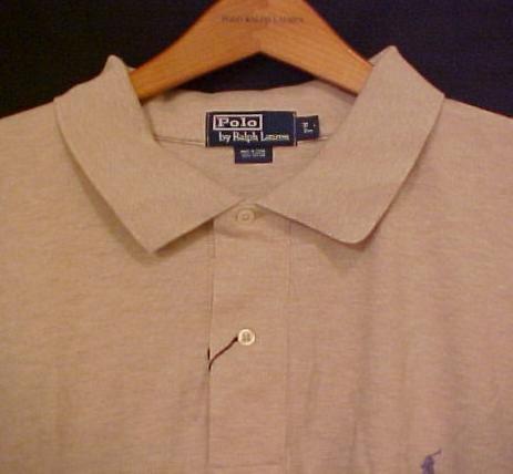 Tan Polo Ralph Lauren Long Sleeve Polo Shirt 3XL 3X 3XB Big Tall Mens Clothing 921241 3
