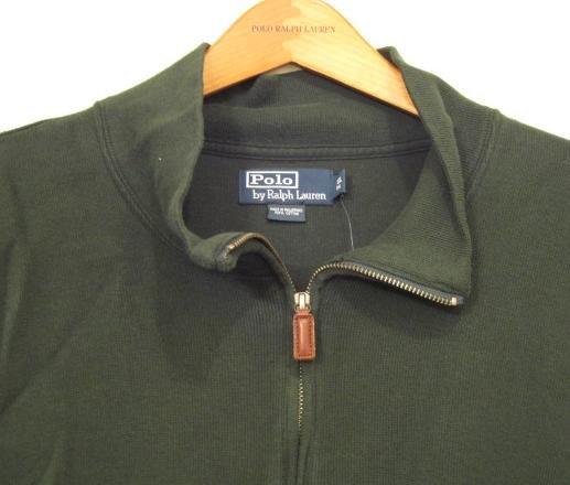 Green Half Zip Polo Ralph Lauren Pull Over Sweater 3XLT 3XT 3LT Big Tall Mens Clothing 921561 4