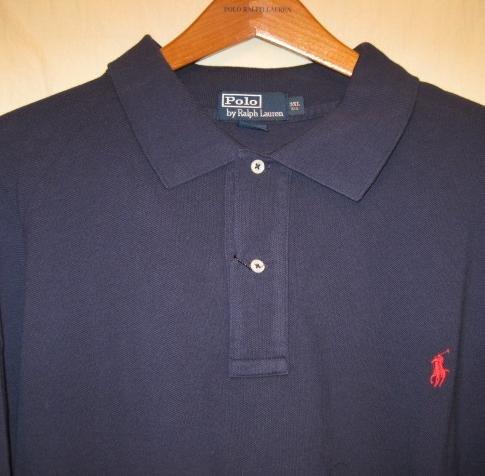 Navy Blue Polo Ralph Lauren Long Sleeve Polo Shirt 3XL 3X 3XB Big Tall Mens Clothing 921651 6
