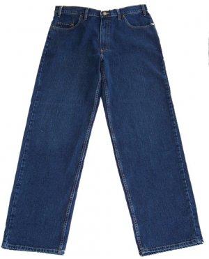 Grand River Classic Jeans RING SPUN STRETCH Blue 60 X 32 Big Mens Size Clothing 198-60-32