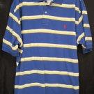 New Ralph Lauren Polo Golf Mesh Shirt S/S Size 2XL 2X Big Men's Clothing 922381