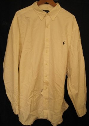 Ralph Lauren Button Down Long Sleeve Shirt 4XLT 4XT 4LT Big Tall Mens Clothing 922431 3