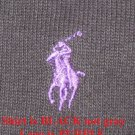 Black Half Zipper Polo Ralph Lauren Pull Over Sweater 3XB 3X 3XL Big Tall Mens Clothing 922511 2
