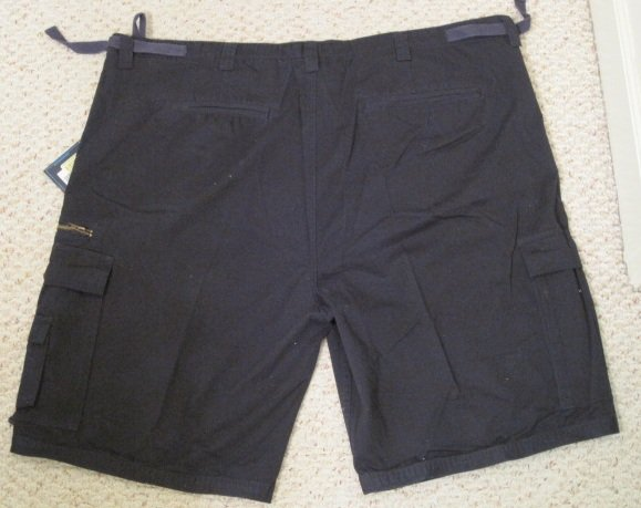 New Big Daddy Navy Blue Cargo Military SHORTS Size 50 W 924231
