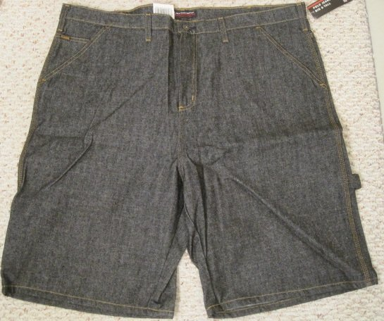 New Ralph Lauren Polo Jeans Carpenter Shorts Size 44 Big Tall Mens Clothing 924271