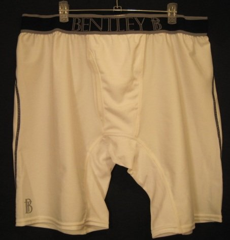New White Compression Underwear Boxers Size 2XL Big Tall Men's Clothing 924801