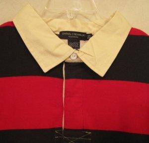Daniel Cremieux Rugby Polo Shirt L/S Size 3XL 3X 3XB Big Men's Clothing 924931