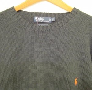 Green Polo Ralph Lauren Pull Over Sweater 3X 3XL Big Tall Mens Clothing 925031