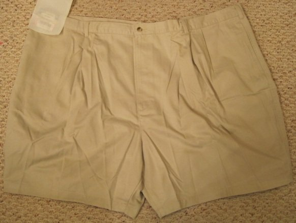 New Putty Stone SHORTS Size 54 Big Mens Clothing 927431