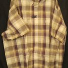 New Button Down Casual S/S Shirt Size 4X 4XL Easy Care Big Mens Clothing 927321